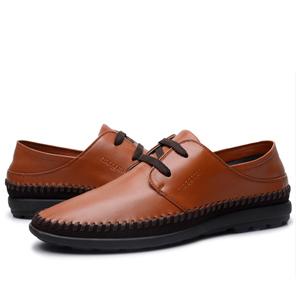 男士皮鞋带的系法图解