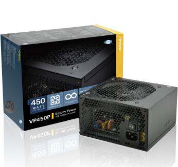 安钛克(antec)额定450w vp电源