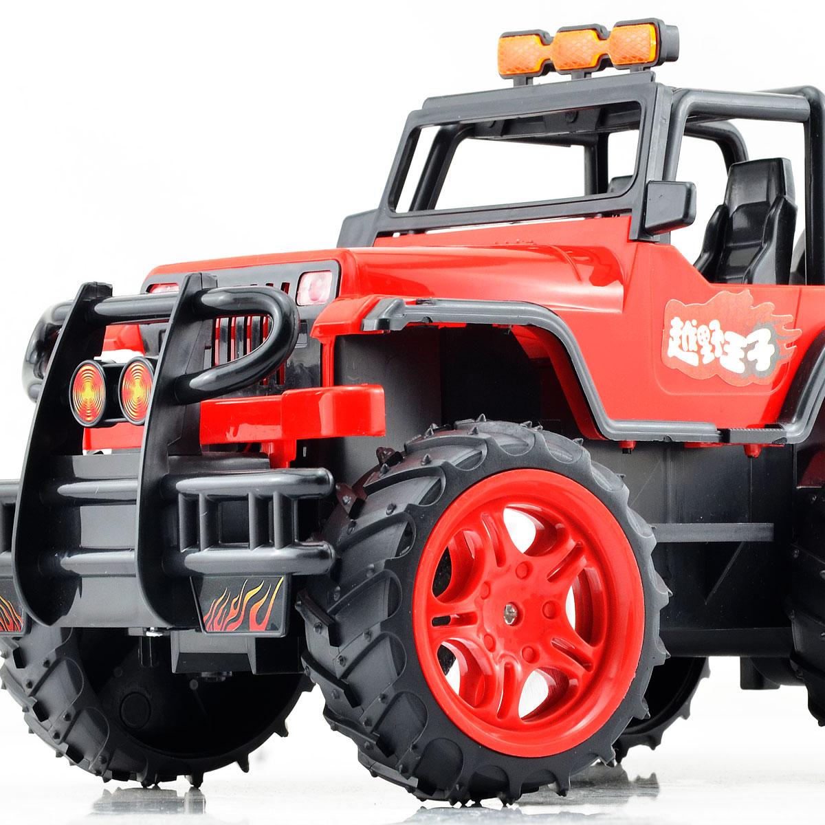 会员购 越野遥控车充电遥控汽车赛车 遥控玩具男孩儿童玩具车摇控
