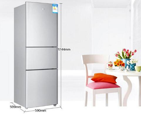 海尔215升三门节能冰箱