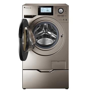 小天鹅变频滚筒洗衣机td80-1408lpidg, 规格为8公斤,采用bldc变频电机