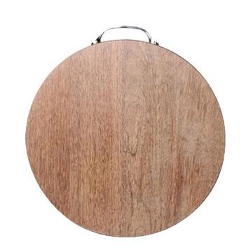 鸡翅木高档圆形红木菜板